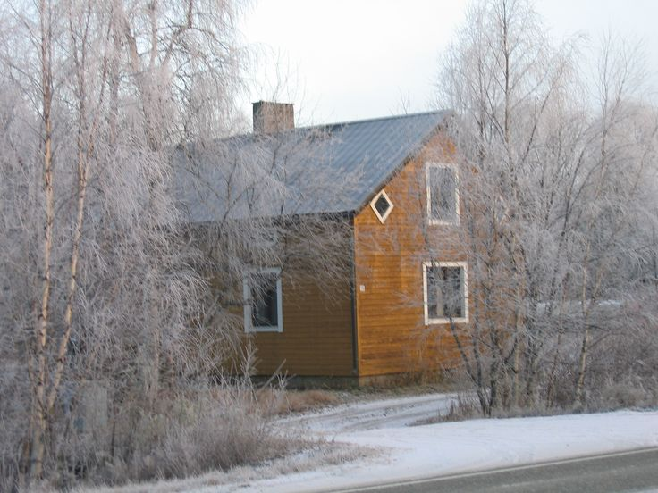 Wooden house in Ivalo