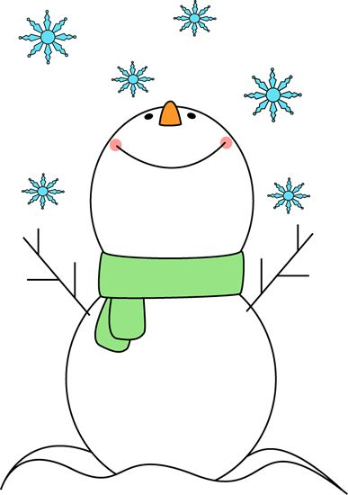 cute snowflake clipart | Snowman Catching Snowflakes Clip Art - Snowman Catching Snowflakes ...