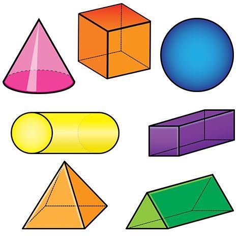 Maths > Géométrie > Les solides > Format: .png 10 pictogrammes Versions en couleurs et en noir et blanc incluses