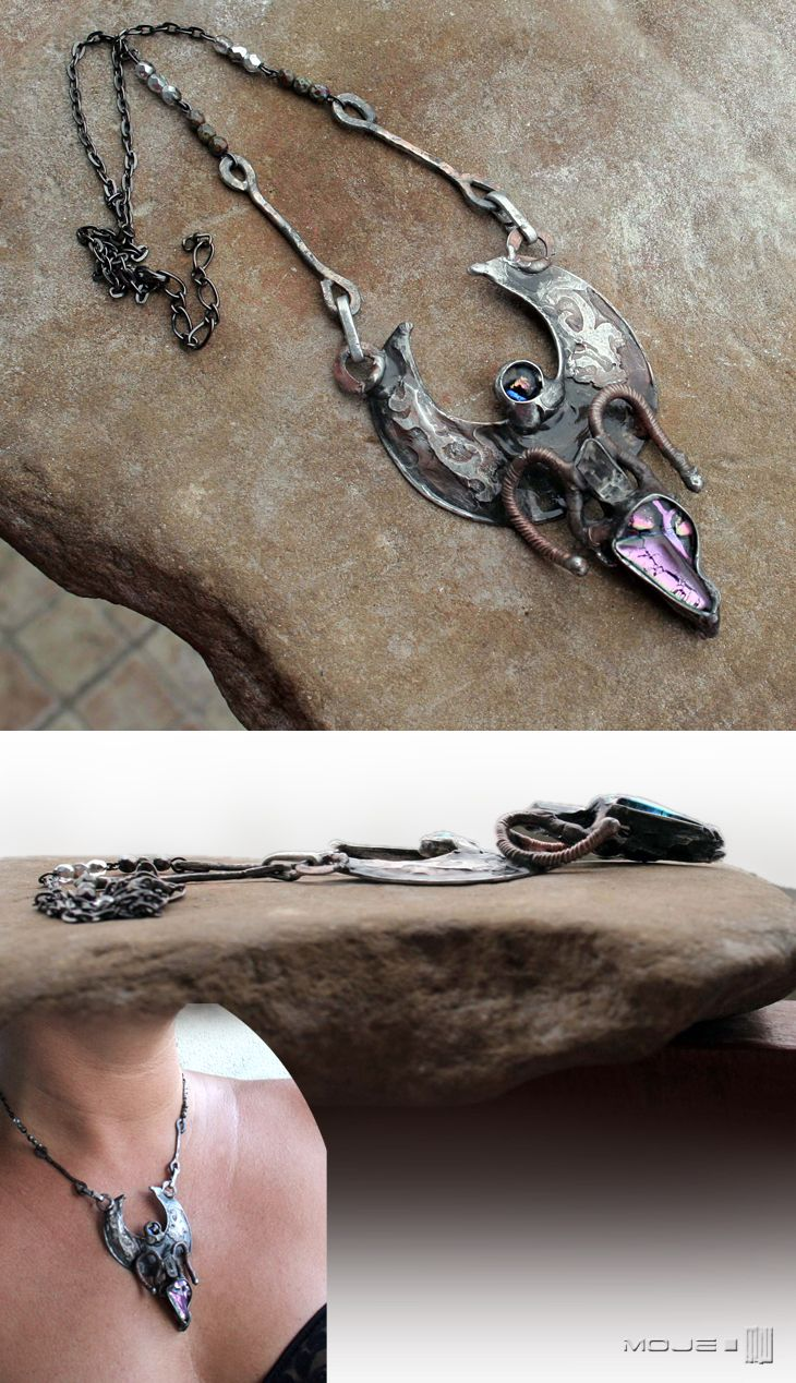 Tunrida - wisior / Pendant. Biżuteria gotycka / Gothic jewellery. Moje MW