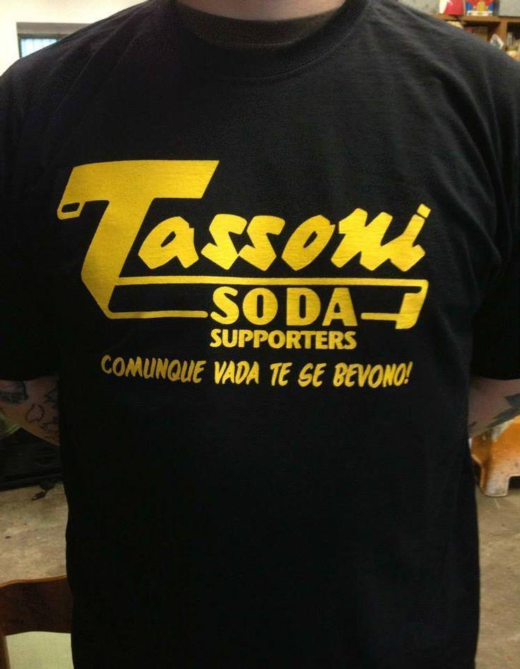 TASSONI SODA SUPPORTERS comunque vada te se bevono T-SHIRT ultras cedrata | eBay