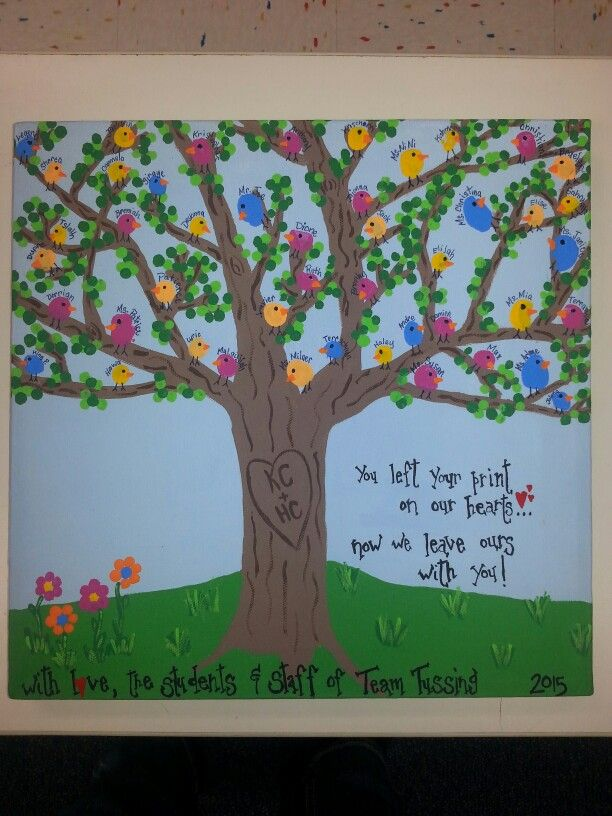 Goodbye gift for a great preschool teacher! | Teaching Pre ...