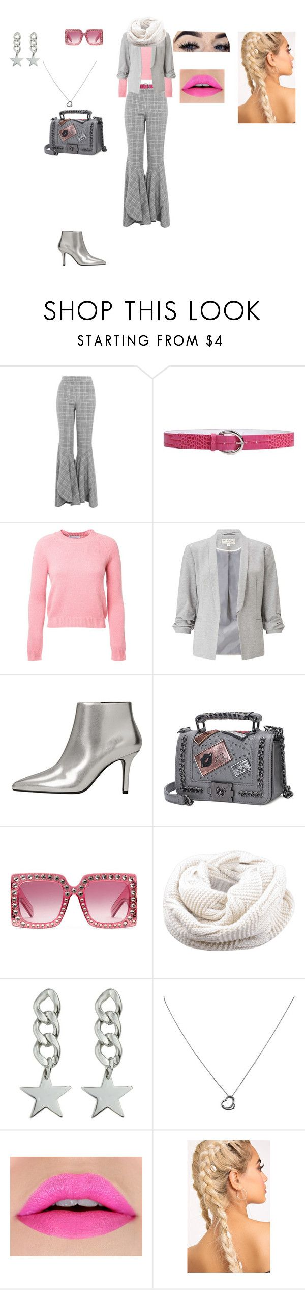 """Casual Outfit"" by helena94-1 on Polyvore featuring Topshop, Orciani, Alexandra Golovanoff, Miss Selfridge, MANGO, Gucci, Tiffany & Co. and polyvorefashion"