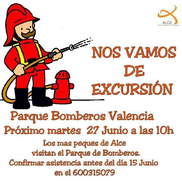 Termina el cole y nos vamos de excursión. Visita al Parque Central de  Bomberos en Valencia. #nosformamos #ocioytiempolibre #epilepsia #bomberos #bomberosvalencia