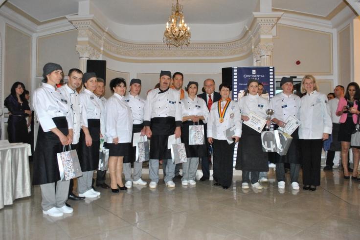 """Concurs """"Cel mai bun bucatar"""" din Continental Hotels Romania"""