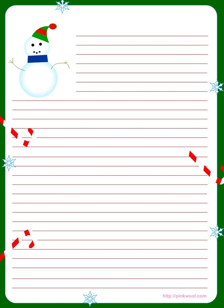 42 best christmas letter printables images on pinterest