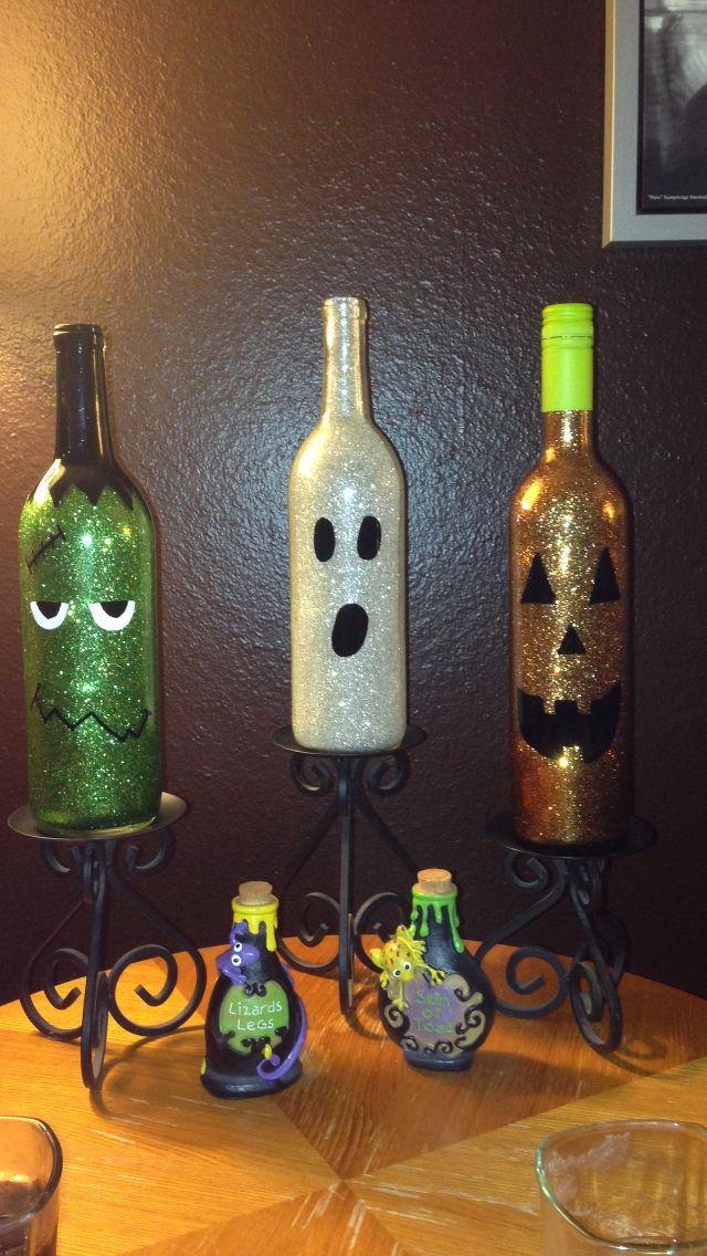 Best 20 halloween wine bottles ideas on pinterest for Reuse wine bottles ideas