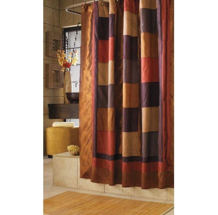 Bathroom Shower Curtain Multicolor Nylon Polyester Washable Bathtub Fabric New! #Southwestern