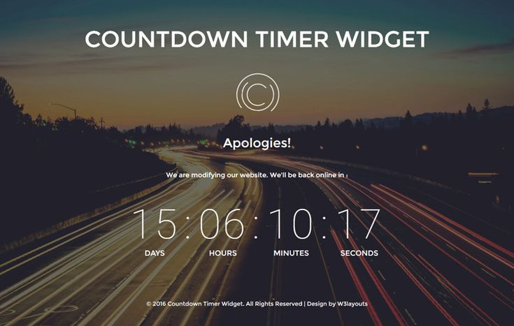 #Countdown #Timer #Widget A #Flat #Responsive #Widget #websablon: https://w3layouts.com/preview/?l=/countdown-timer-widget-flat-responsive-widget-template/