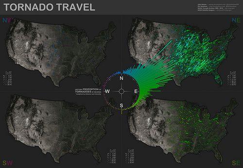 IDV Solutions' tornado map