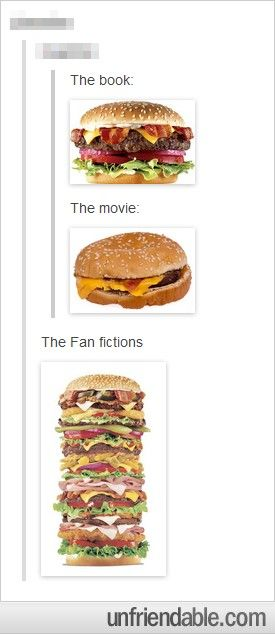Definitely, one of the most accurate posts ever in existence about fanfic.