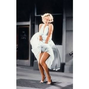 The pose that took the world by storm. An Edith Head design worn by Marilyn Monroe.