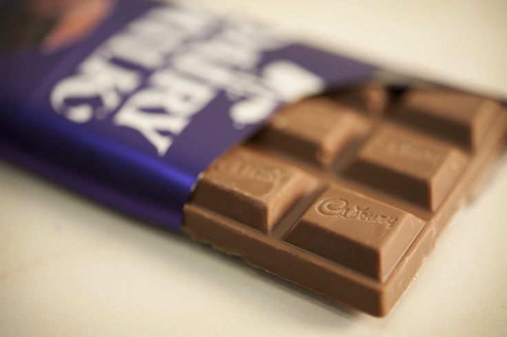 Chocolate bars are yummy! A whole chocolate bar might be troubling but half of one is good too!