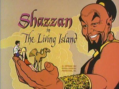 Shazzan (1967) - Chuck e Nancy, Shazzan e Kabubi