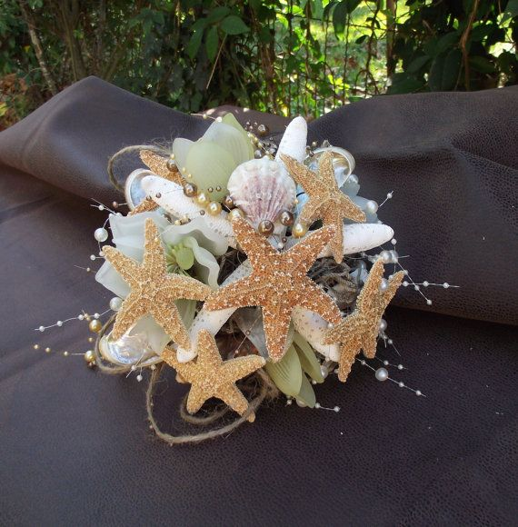 17 Best Ideas About Shell Bouquet On Pinterest