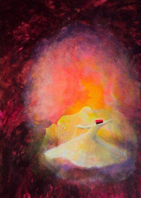 Whirling Dervish by Khusro Subzwari
