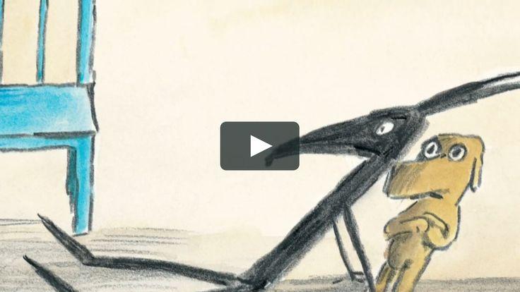 Voici La Chaise Bleue De Claude Boujon Offert Par L Ecole Des Loisirs Sur Vimeo Le Site D Hebergement Des Videos De Haut In 2020 Stories For Kids Film D Pluto The Dog