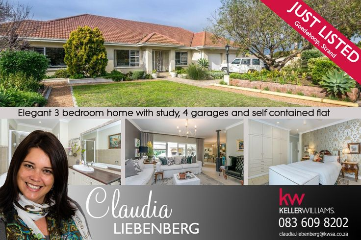 For Sale in Strand, South Africa Elegant family home with designer finishes and flair.