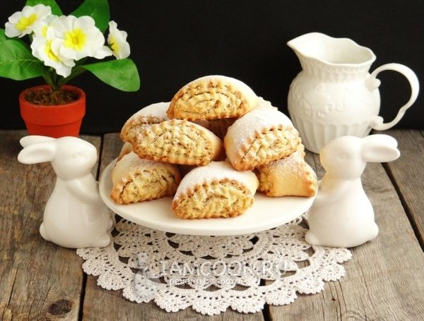 Фото печенья с грецким орехом