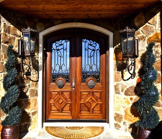 Mediterranean Style Front Doors: 174 Best Images About Tuscany On Pinterest