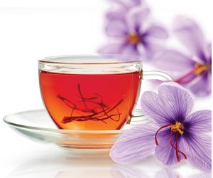 Saffron tea beneficial for overcoming depression, anti-cancer properties, menstrual relief, reduces stomach pain, heart disease.