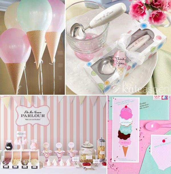 Ice cream baby shower