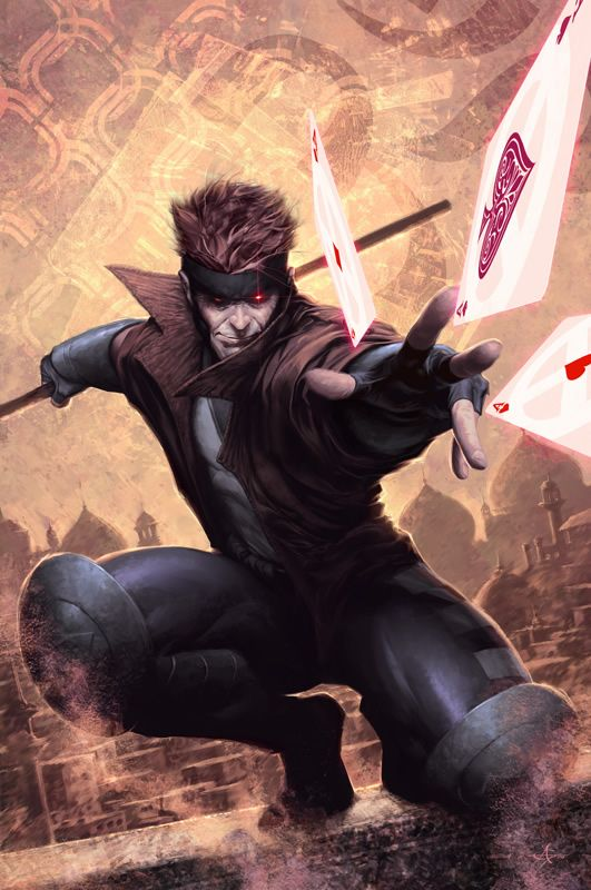 X-Men: Gambit - always a favorite of mine. I think it's the Cajun accent....