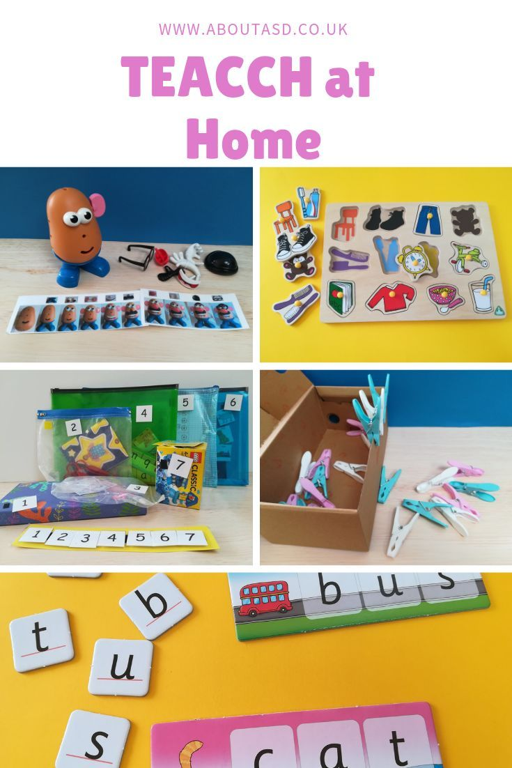 TEACCH at Home   Activities for autistic children ...
