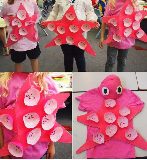 Best 25 starfish costume ideas on pinterest diy fish for Fish costume diy