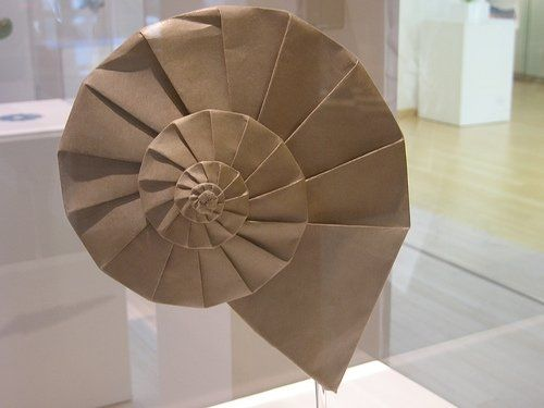 Origami Shell instructions