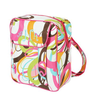 Monogram Preschool Backpack Tutti Frutti by SCPersonalTouch