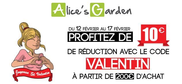 1000 images about ev nements d 39 alice on pinterest - Code de reduction alice garden ...