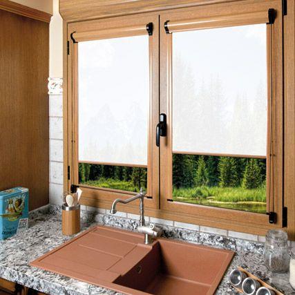 Estores enrollables Corti Glass de cortinadecor