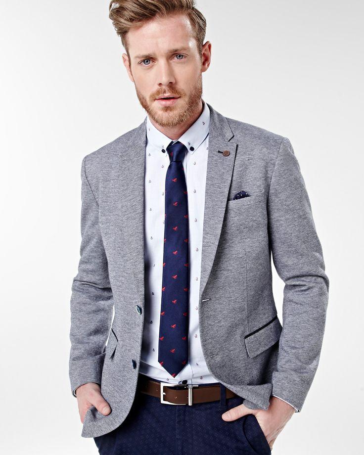 Grey blazer combo