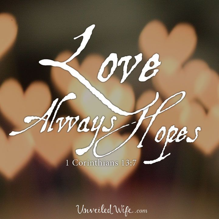 Love Always Hopes – What Is Love? – Part 13 --- My good friend and fellow blogger, Fawn Weaver, founder of Happy Wives Club,  is sharing on the next part of our What Is Love Marriage Series! She brings to light something that we have all experienced in some form, [...]� Read More Here http://unveiledwife.com/what-is-love-series-part-13-love-always-hopes/ #marriage #love