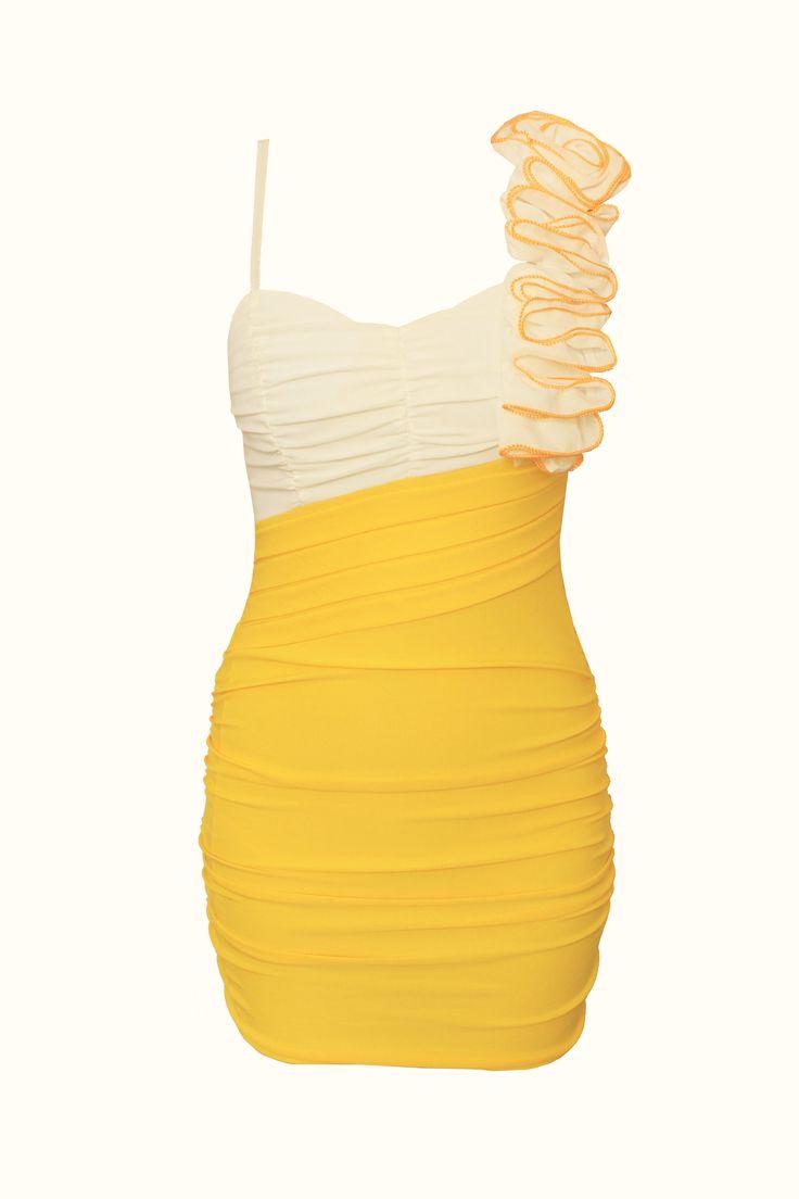 lady sexy one shoulder dress  $17.00