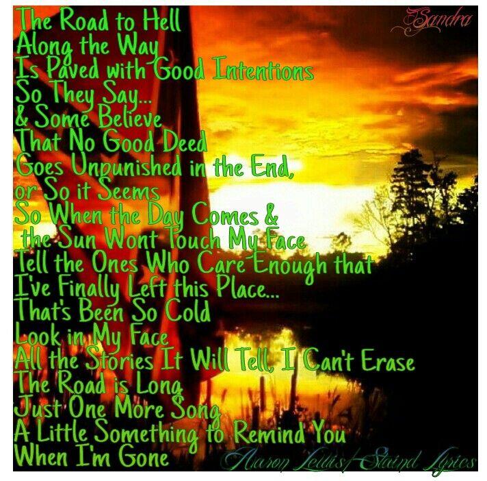 Lyric lyrics to something : 72 best heart me some aaron lewis images on Pinterest | Lyrics ...