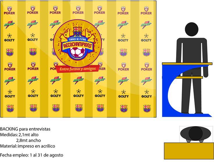Diseño de campaña para evento:(Conceptualización con: Ronald Restrepo, Alejandro Montoya y Andrés F Pérez) Diseño y branding por: Andrés F Pérez: Campaña para torneo de fútbol universitario semi-formal, rescata la importancia de los amigos y la recocha. Diseño de logo: Alejandro Montoya