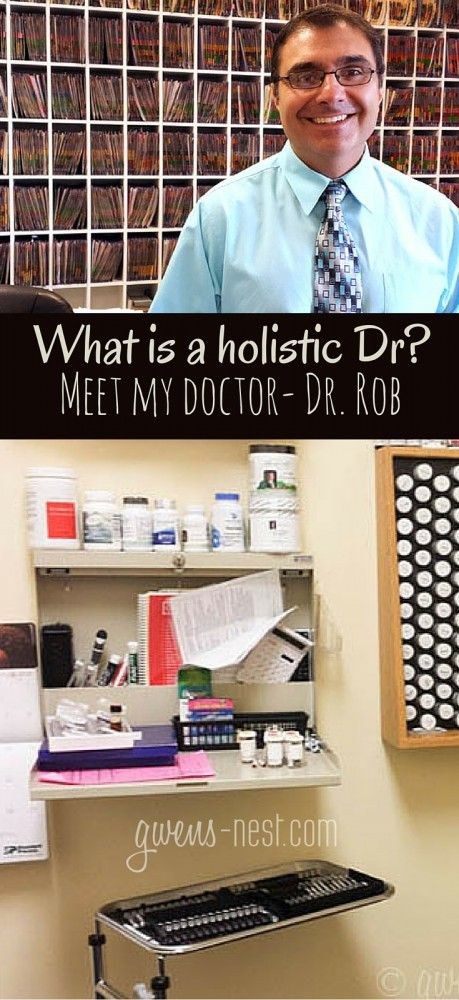 Ever wonder what a holistic doctor does or how they're different than a standard doctor? Meet *my* doctor, Dr. Rob- and he answers all of my questions about holistic doctors.