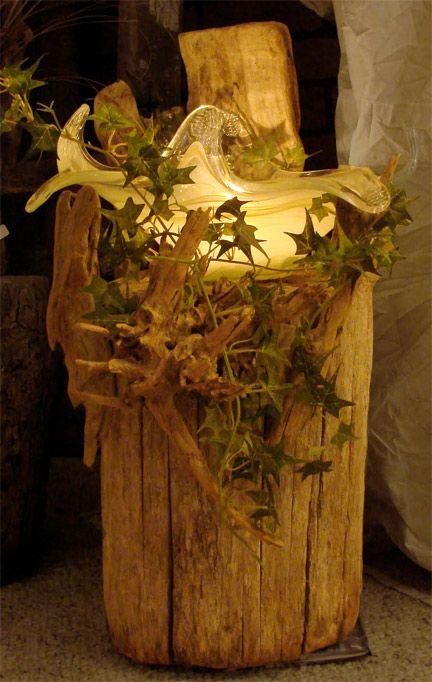 Rustic Bird Baths | Garden Crafts & Garden Decor this is what I was thinking mom