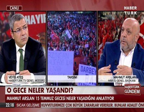 Arslan, Haber Türk'de gündemi değerlendirdi