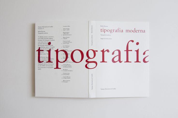 "Robin Kinross ""Tipografia moderna"" Saggio di storia critica  (via Ant Lio)"