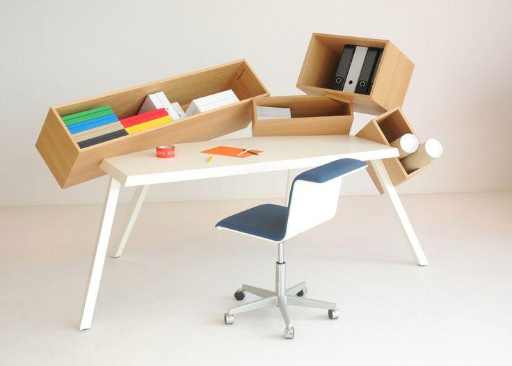 Overdose Desk | Designer: Bram Boo: Office, Interior, Idea, Desks, Furniture Design, Space, Overdose Desk