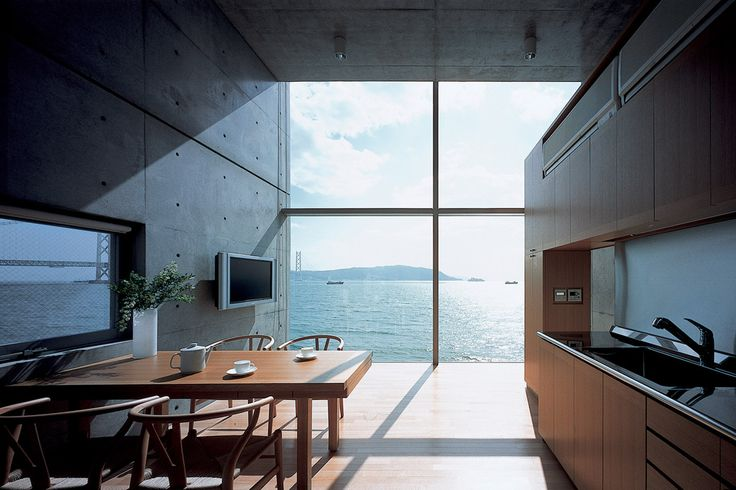 Interior 4x4 house kobe hyogo tadao ando pinterest for Living room 4x4