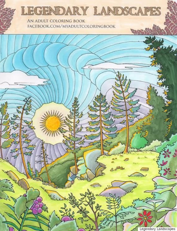 20 Best Legendary Adult Colouring Books Images On