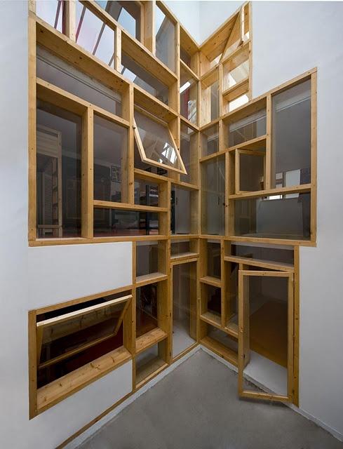 51 best wacky windows images on pinterest arquitetura. Black Bedroom Furniture Sets. Home Design Ideas