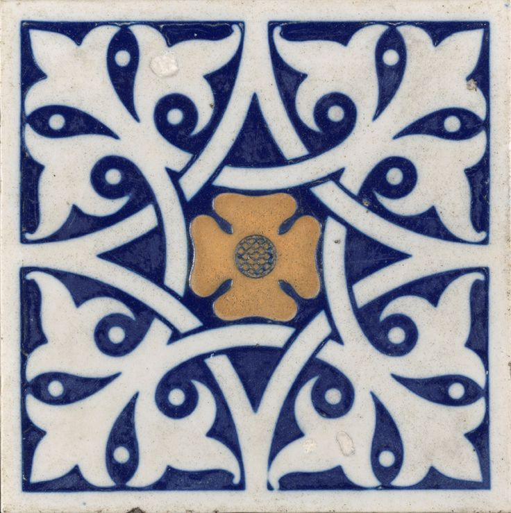 Minton enaustic tile (the Minton archive is under threat) see http://www.artfund.org/mintonarchive/