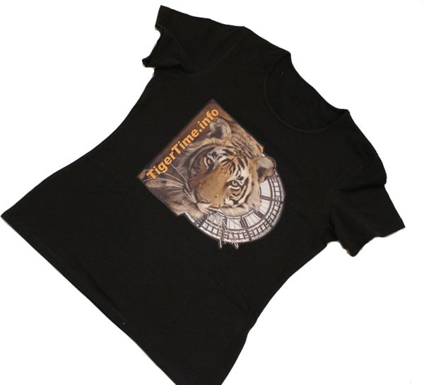 Lady fit crew neck T-shirt, TigerTime Online Store #HelpTigers
