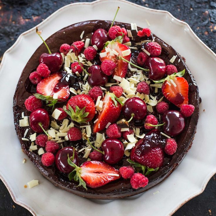This is one stunning dessert – the cherries and white chocolate make it very festive, so it's perfect for the Christmas table. If you don't have fresh cherries, feel free to use fresh berries or strawberries. This baked cheesecake is gluten-free … Continued