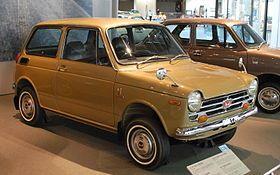 1969 Honda N360. Predecessor of Honda Civic